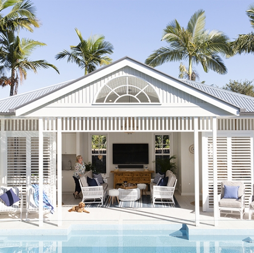 Bulimba pool house